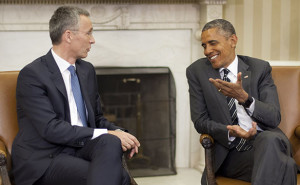 Генеральный секретарь НАТО поблагодарил Президента Обаму за лидерство США