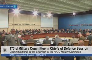 173 сессия Военного Комитета НАТО