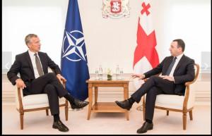 Пресс-выход генсека НАТО в Грузии