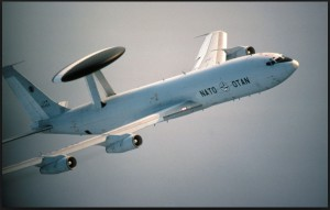 Авакс НАТО продолжил сканировать горизонт