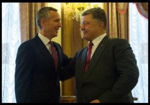 Выступление генсека НАТО в СНБО Украины