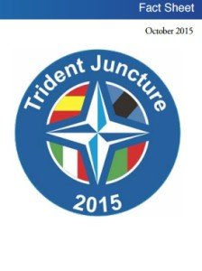 Учения Соединение Трезубец 2015 (Exercise Trident Juncture 2015)