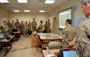 Десантники на учениях НАТО Arrcade Fusion 2015 — AF15