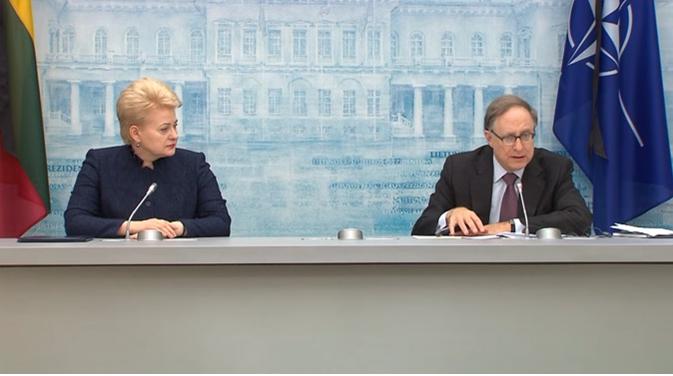 Совместный пресс-выход Вершбоу и Грибаускайте