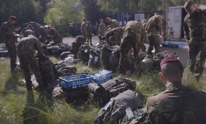 мобилизованные голландские войска