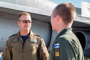 шведский и натовский военные