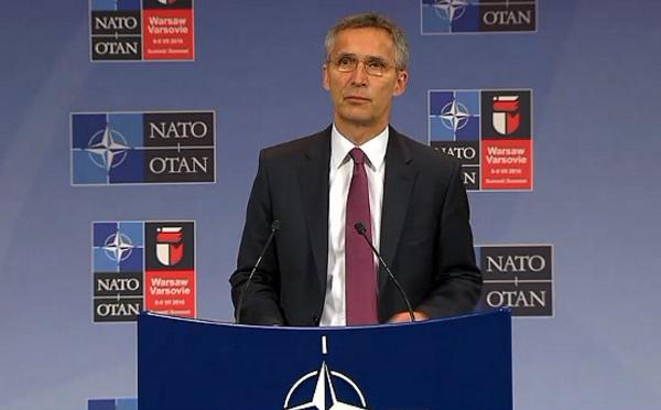 Пресс-конференция генсека НАТО после встречи Комисси НАТО-Украина
