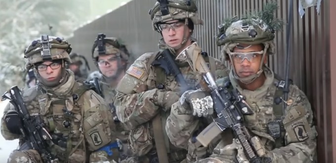 фотографии учений НАТО Железный меч
