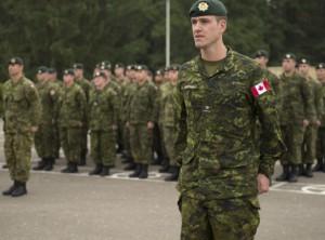 Канадские войска в Латвии столкнулись с скептицизмом
