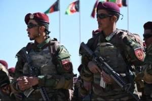В Кабуле состоялся самый большой выпуск Коммандос