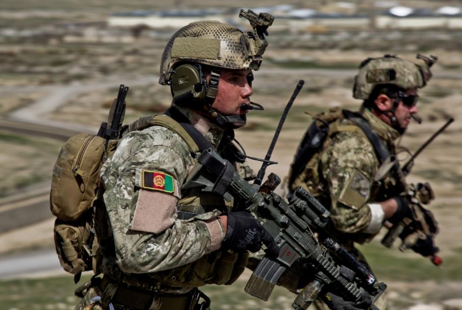 Итальянские инструкторы в Афганистане