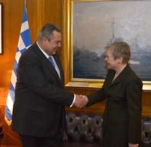 Заместитель генсека НАТО посетил Грецию