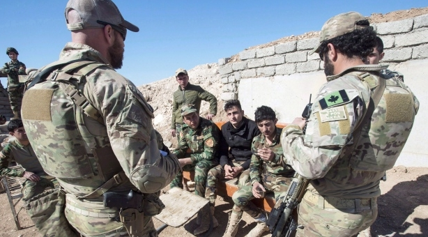 канадские инструкторы в Ираке