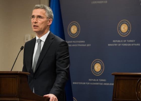 Генсек НАТО встретился с президентом Турции