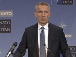 Пресс-конференция  генерального секретаря НАТО