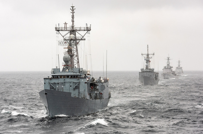 походный ордер кораблей нато