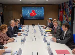 Генсек НАТО поблагодарил Евроконтроль за сотрудничество