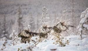 шведские военные учения