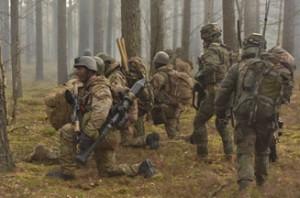 Учения боевой группы НАТО в Литве