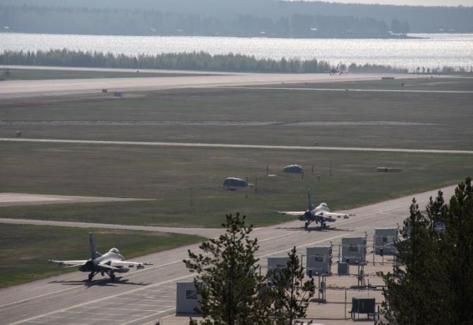 Учения НАТО Arctic Challenge 2019