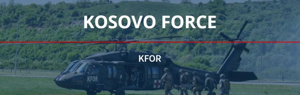 Миссия kfor в Косово