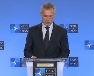 Пресс-конференция  генерального секретаря НАТО Йенса Столтенберга по итогам заседания Совета Россия-НАТО