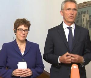 Генсек НАТО поприветствовал нового министра обороны Германии