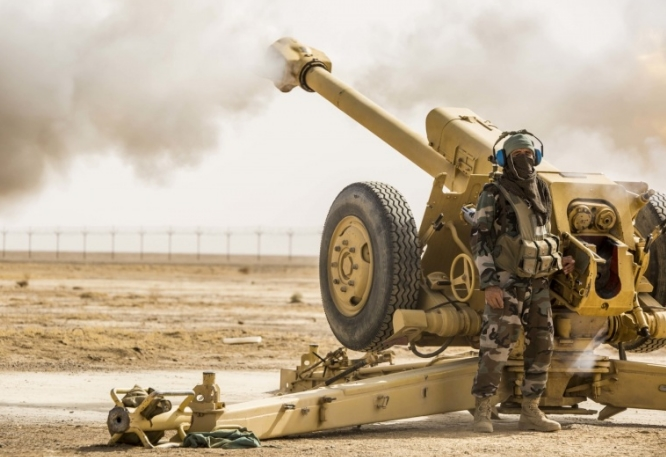 афганский артиллерист