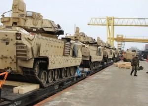 В Литву будет переброшен бронетанковый батальон США