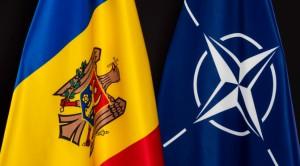 флаги молдовы и нато