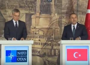 Пресс-конференция генсека НАТО и министра иностранных дел Турции (текст)