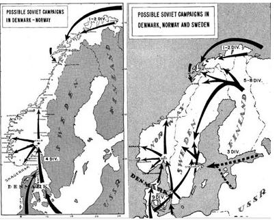 карты разведки НАТО