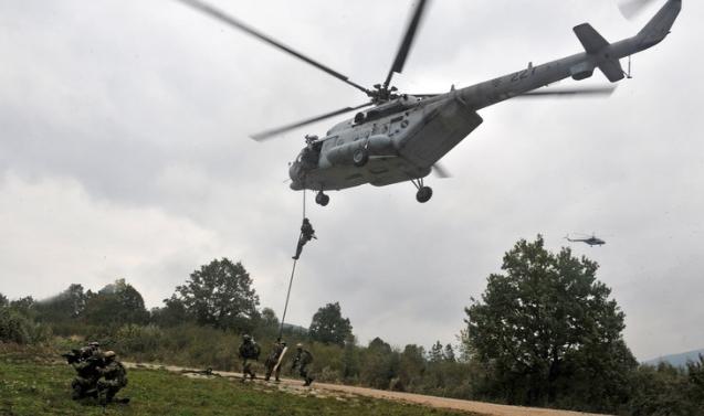 Многонациональный Авиационный учебный центр специальных операций в Хорватии