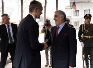 Генсек НАТО посетил Афганистан, во время подписания соглашения между США и Талибаном