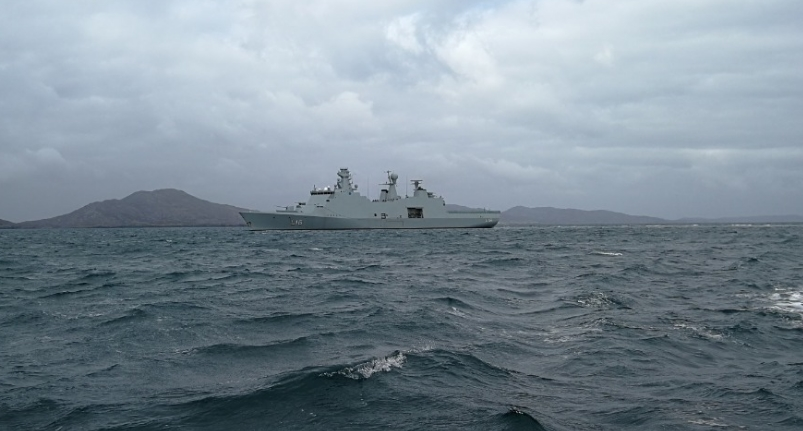 Морские учения Joint Warrior 2020