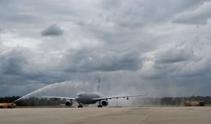 Первый новый самолет-заправщик НАТО вступил в строй