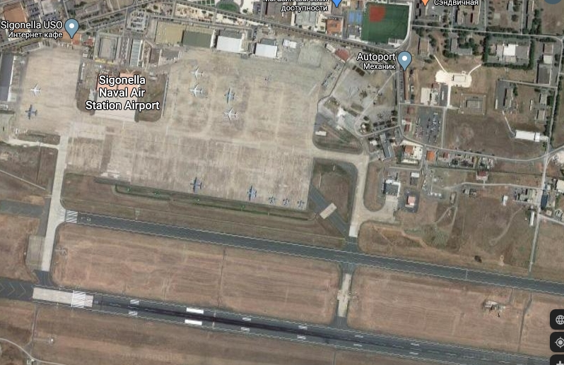 Авиабаза НАТО в Сигонелле