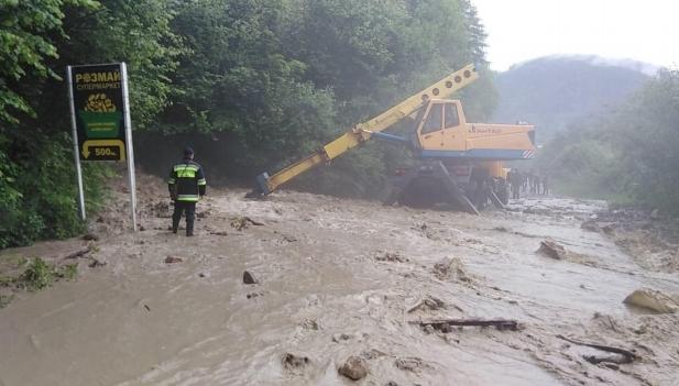 Запрос Украины в НАТО на получение помощи в ликвидации наводнения