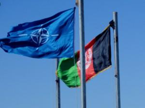 флаги афганистана и нато