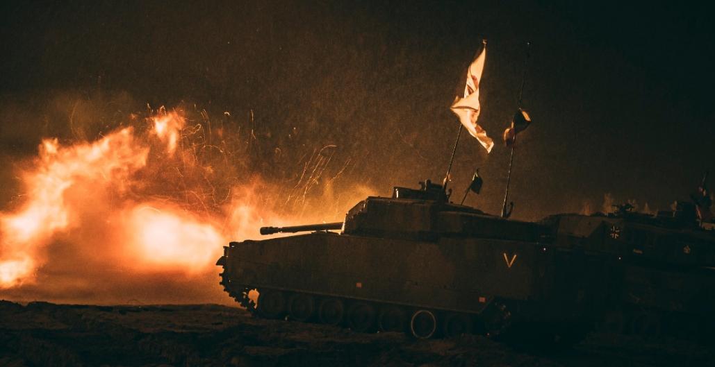 Соревнования бронетехники НАТО IRON SPEAR 2020