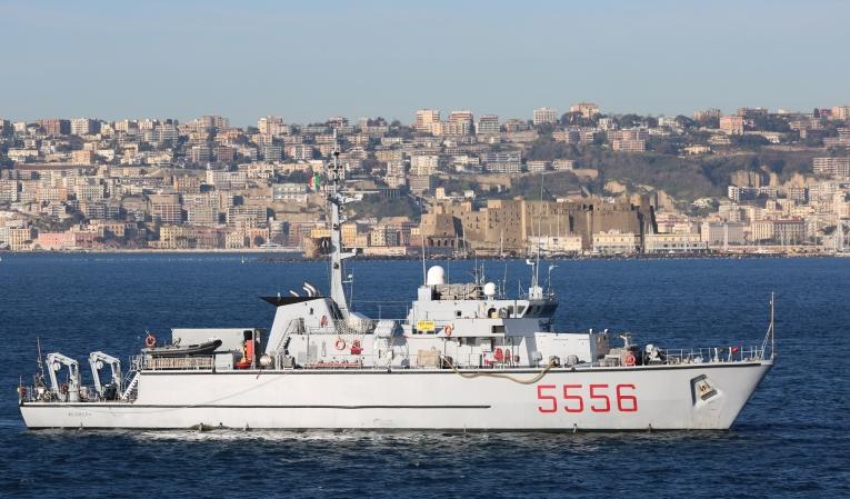 корабль ITS Alghero M5556
