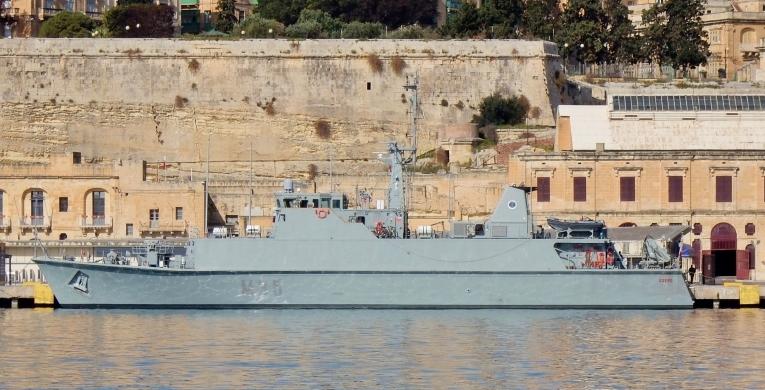 корабль ESPS DUERO M35
