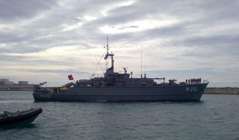 корабль TCG EDREMIT M261