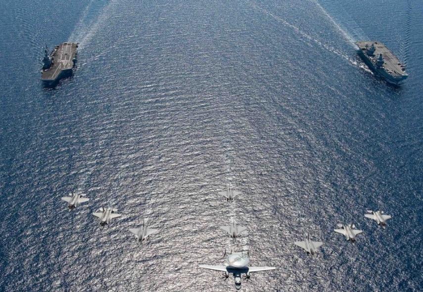 Авианосные ударные группы НАТО