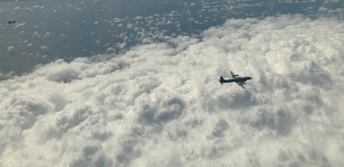 Перехват российского самолета