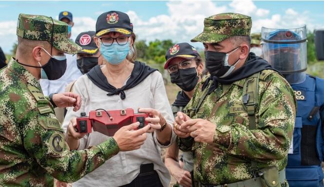 НАТО и Колумбия провели переговоры на высоком уровне